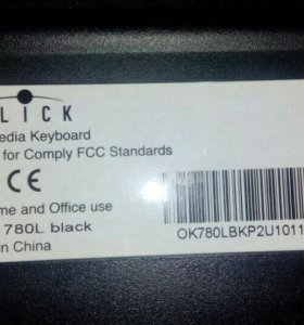 Клавиатура oklick 780 L
