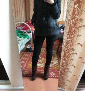 Пуховик на теплую зиму и холодную осень