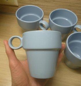 Чашки 5 штук