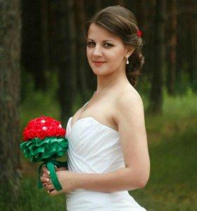 не венченое платье