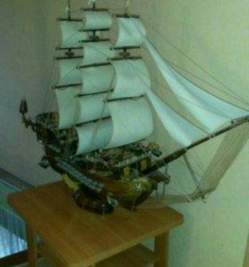 корабль фрегат парусный