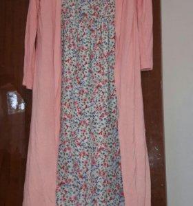 Платье +кардиган/обмен
