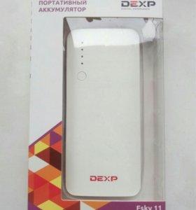 Портативный аккумулятор на 11000mAh
