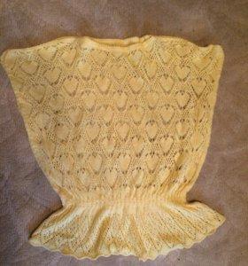 Вязанная кофточка