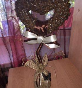 Кофейное дерево(сердце)