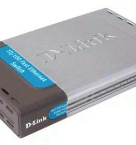 Коммутатор Dlink DES-1008D