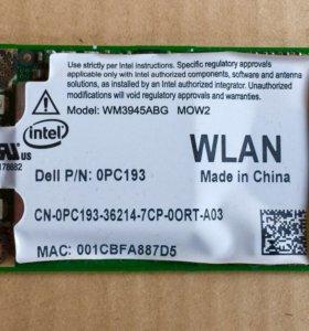 Wifi адаптер для ноутбука intel wm3945abg