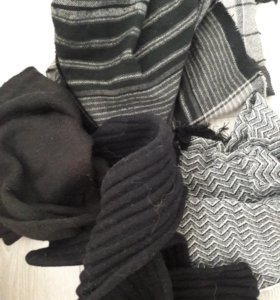 Мужские шарфы.