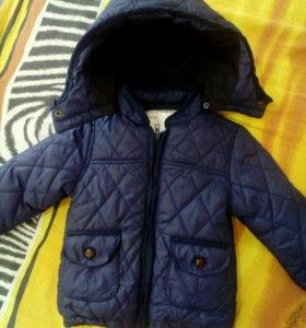 Курточка на мальчика+шапка