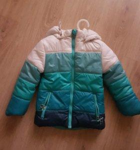 Куртка для девочки+ПОДАРОК