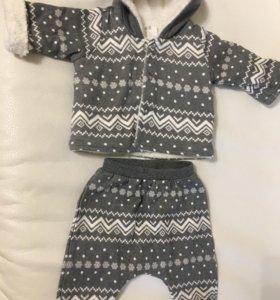 Продам новый утеплённый костюм H&M