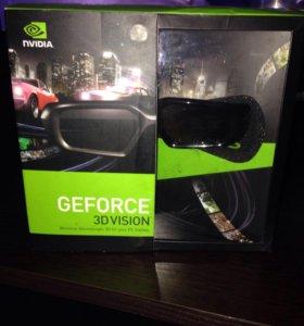 GeForce 3D Vision NVidia очки