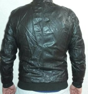 Мужская коженная курточка