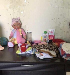 2 Baby Born,кукла+одежда