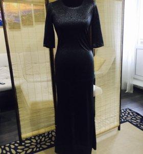 Новое платье из люрекса