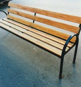 Скамейки подъездные 2м