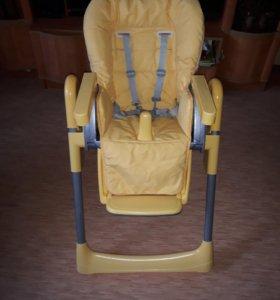 Детский стульчик для кормления 2 положений спинки