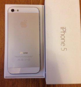 Айфон 5, 16 Гбайт.