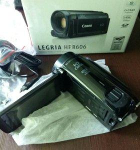 Видеокамера Canon Legria HF R606 новая!
