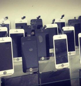 Дисплеи на iPhone 5-5s
