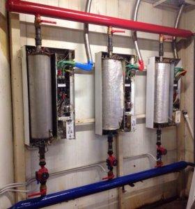 Монтаж систем отопления , водоснабжения, канализац