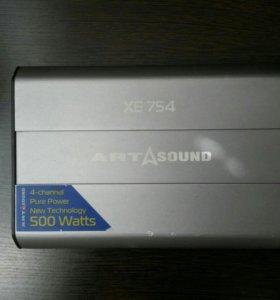 4-канальный усилитель Art Sound XE 754