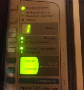 Принтер hp 1215 all in one принтер-сканер-копир