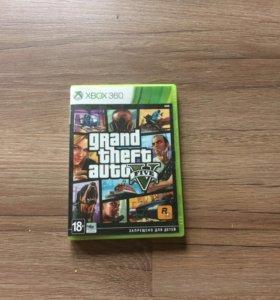 Диск Grand Theft Auto Five