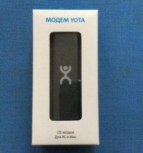 Модем YOTA LTE для PC и Mac