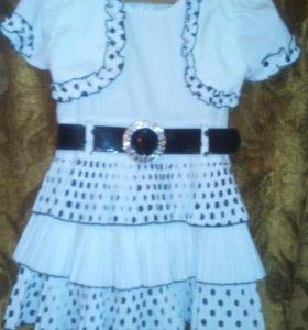 Платье на 5-7лет