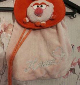 Прекрасные рюкзак и сумочка для маленьких принцесс