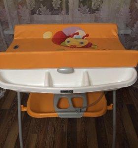 Пеленальный столик с ванночкой Cam Volare.
