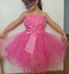 Платье детское нарядное НОВОЕ