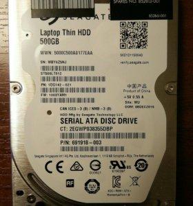 HDD для ноутбука 500 Gb
