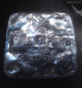 Коробка жесть Г.Ландринъ С.Петербургъ до 1917г.