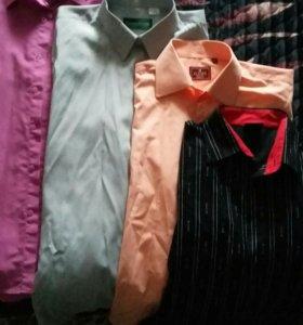 Рубашки мужские р. 44-46