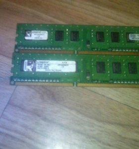 Оперативная память,2 шт на 1Gb