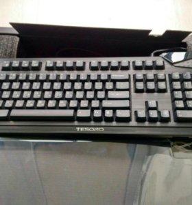 Tesoro Durandal TS-G1N, Blue игровая клавиатура.