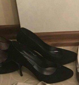 Туфли 👠 замша нат. Торг.