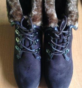 Новые ботинки зимние INARIO