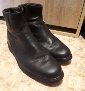 Ботинки зимние, натуральная кожа