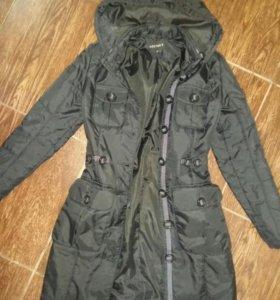 Теплое женское пальтишко XS