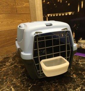 Переноска для кошек и собак до 6кг с поилкой