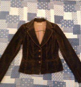 Вельветовая куртка-пиджак