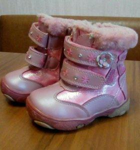 Ботиночки на девочку зима