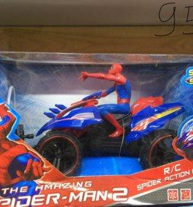 Машинка ру человек паук