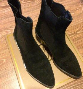 Ботинки женские, нам.замша Ash Италия