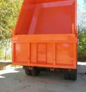 Покраска грузовиков