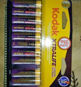 Батарейки алкалиновые Kodak Extralife 10 штук