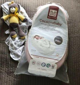 Кокон для новорожденных Cocoonababy Red castle